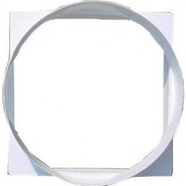 Переходник с квадрата 90*90 на круг 100